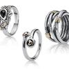 Sidabriniai žiedaii